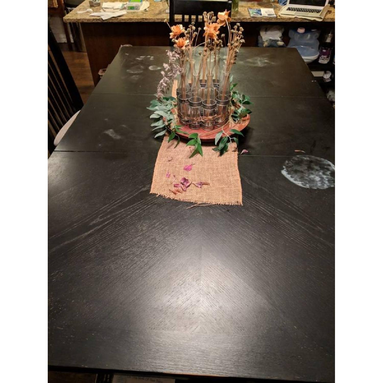 Bob's Black 7-Piece Extendable Pub Height Dining Set-1