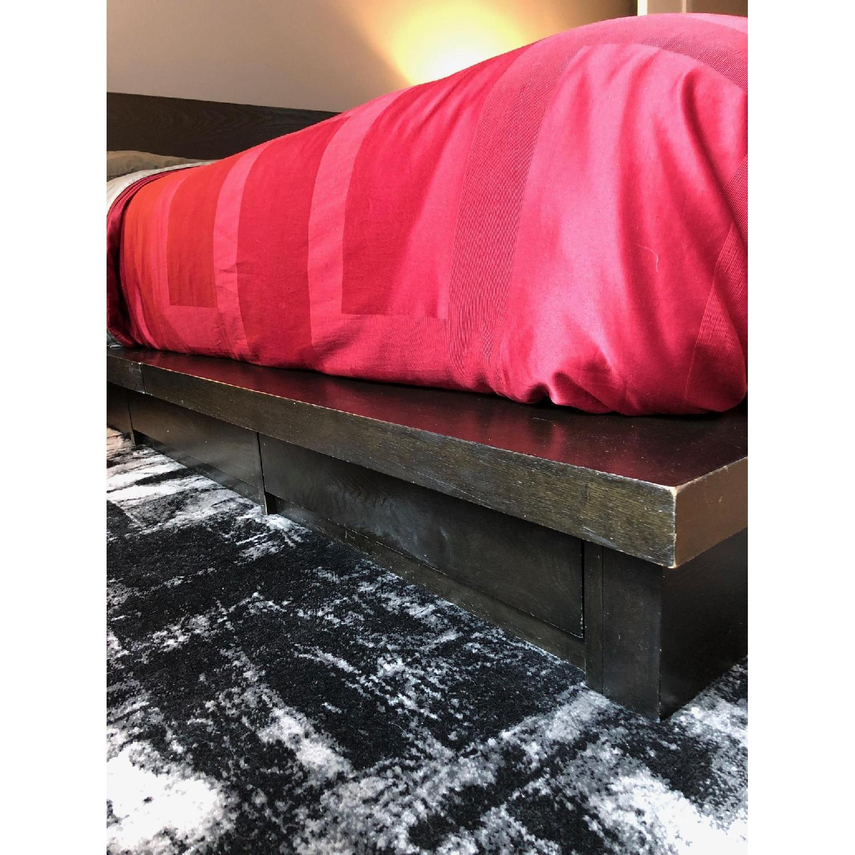 Gothic Cabinet Craft Queen Platform Bed w/ 4 Drawers-1