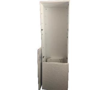 Ikea Besta White Cupboard