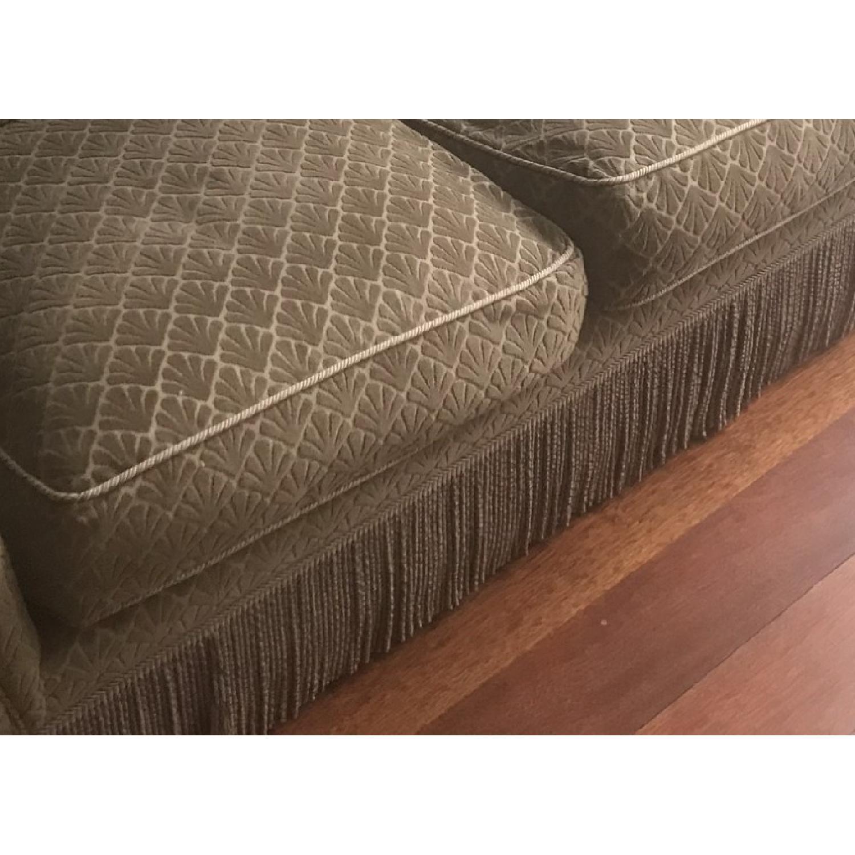 Slipcovered 3 Seater Sofa w/ Trim-2