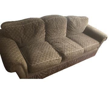 Slipcovered 3 Seater Sofa w/ Trim