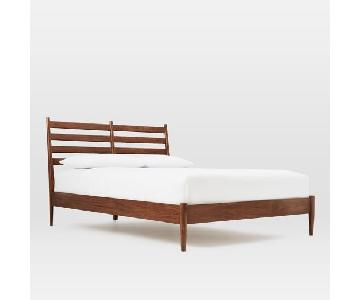 West Elm Arne Full Size Bed in Walnut