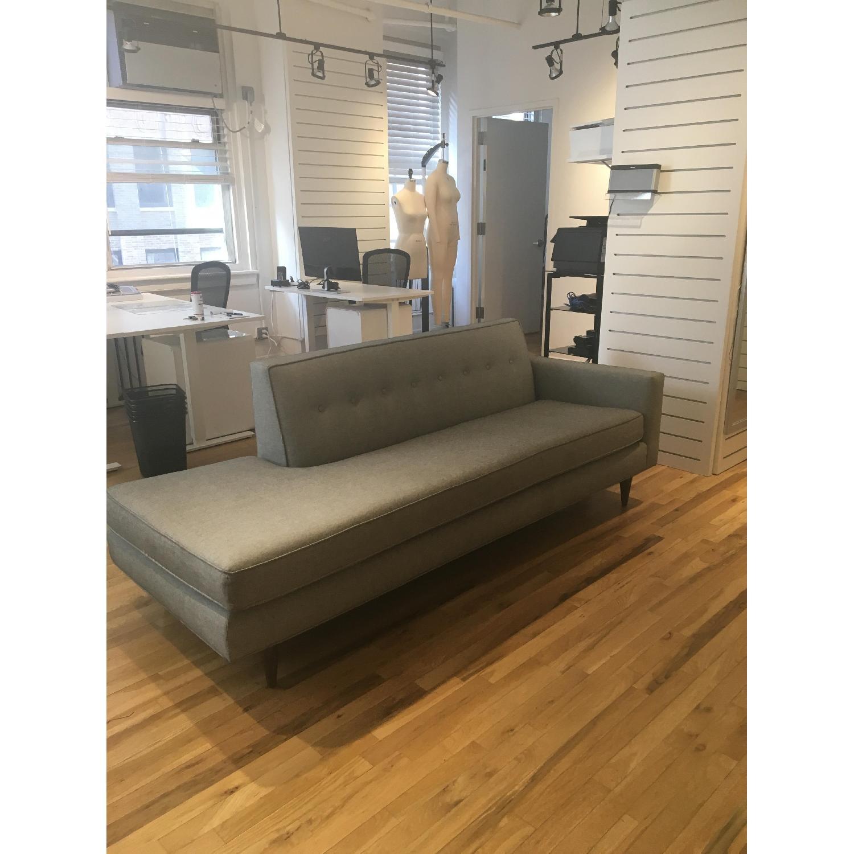 Design Within Reach Bantam Studio Sofa/Chaise Lounge-0