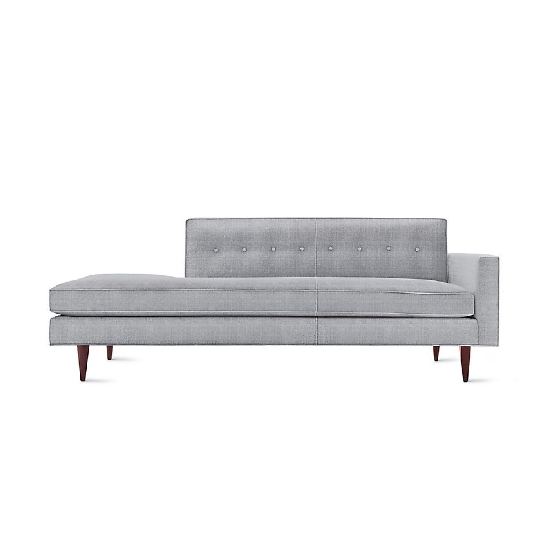 Design Within Reach Bantam Studio Sofa/Chaise Lounge