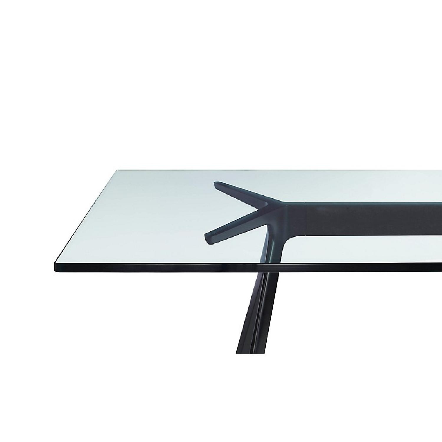 Design Within Reach Baguette Glass Top Dining Table-3