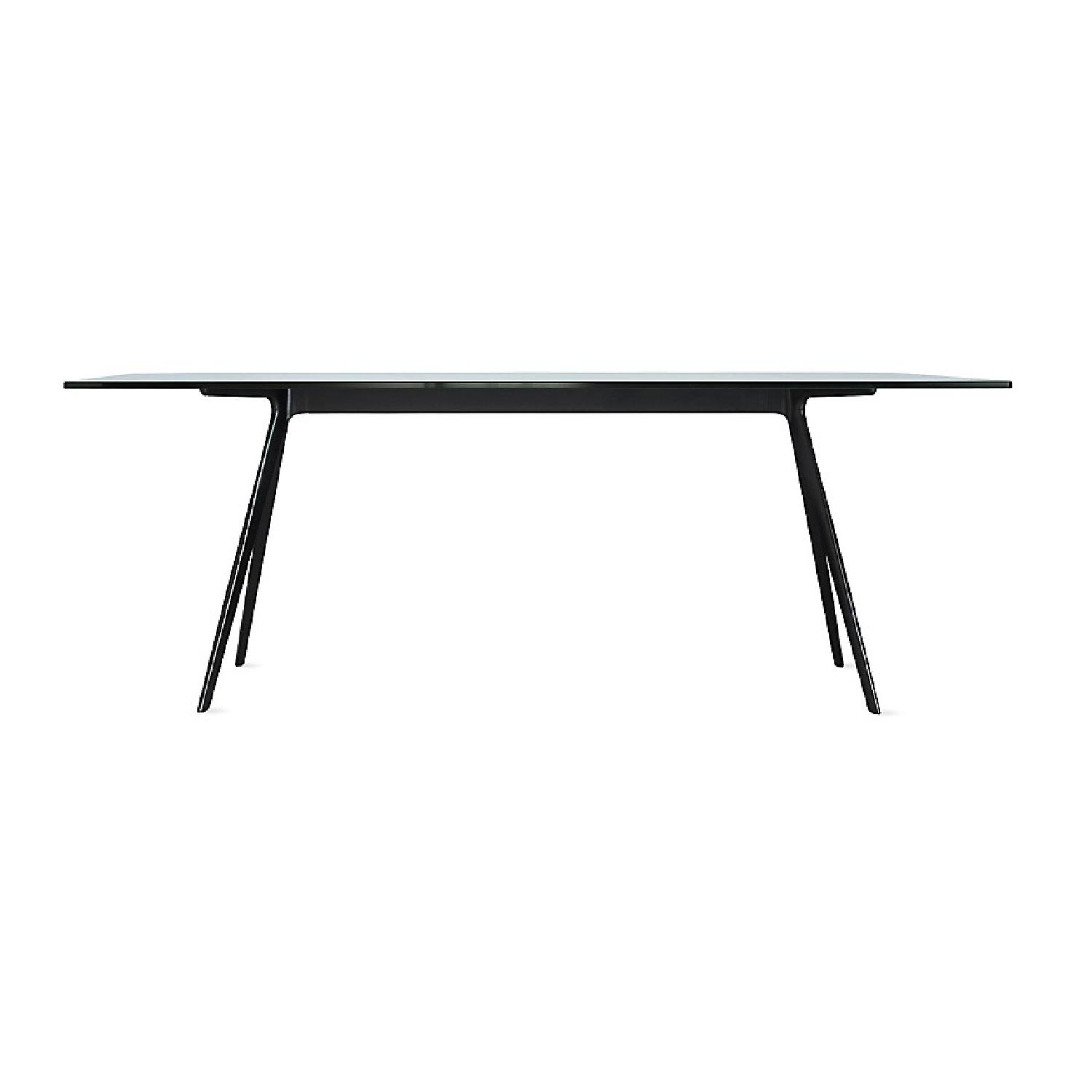 Design Within Reach Baguette Glass Top Dining Table-4