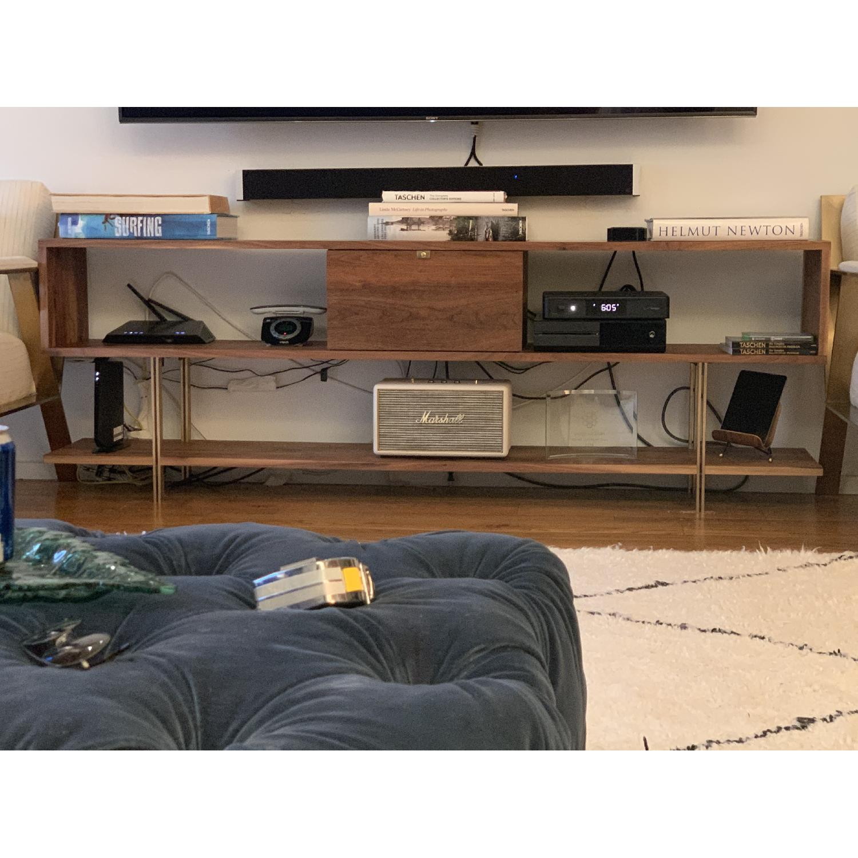 Organic Modernism Cobra Low Bookshelf/Media Unit-2