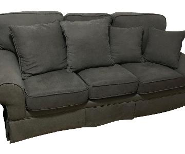 Bob's Dark Grey 3-Seater Sofa