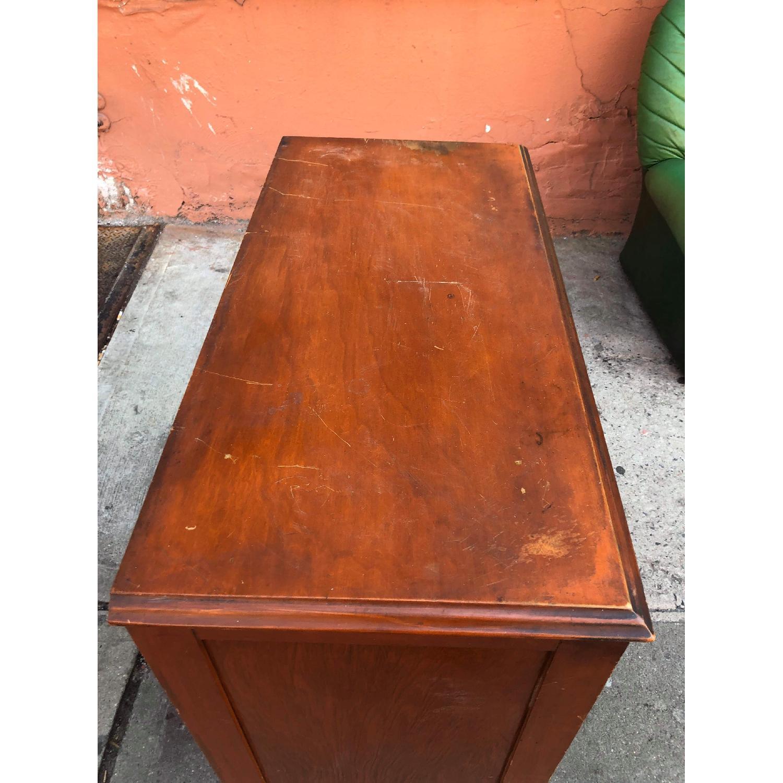 Antique 1930s Solid Wood 3 Drawer Dresser-2