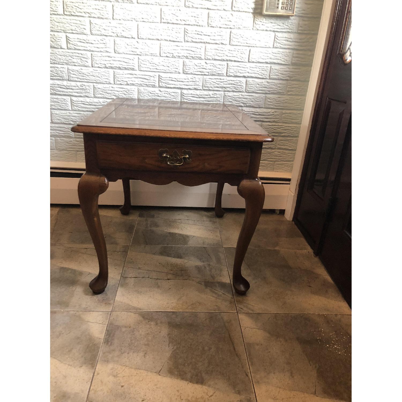 Hammary Wood Side Table-0