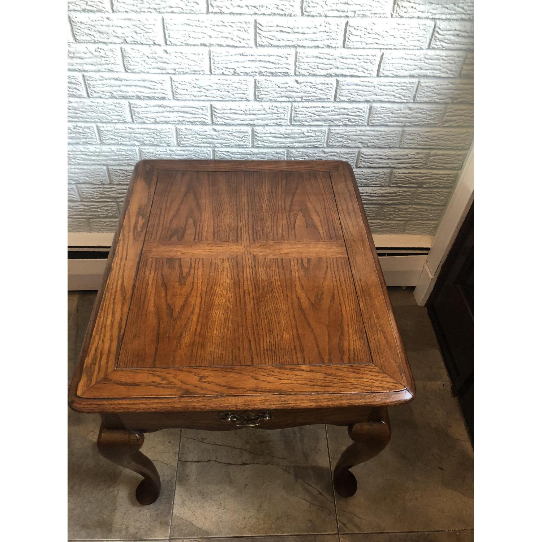 Hammary Wood Side Table-1