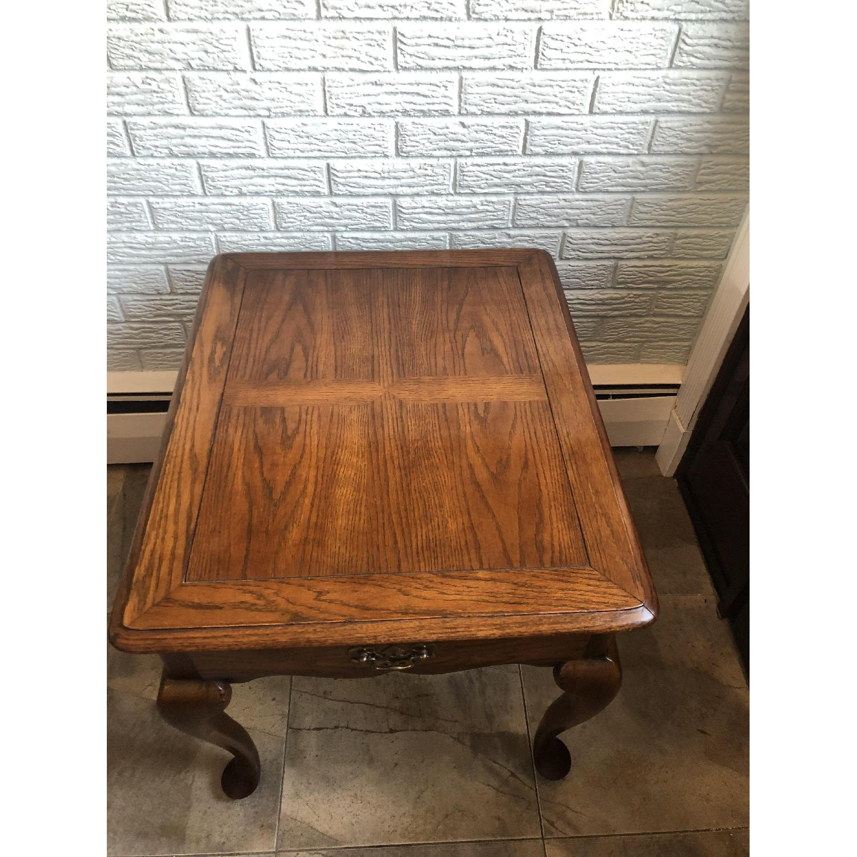 Hammary Wood Side Table-2
