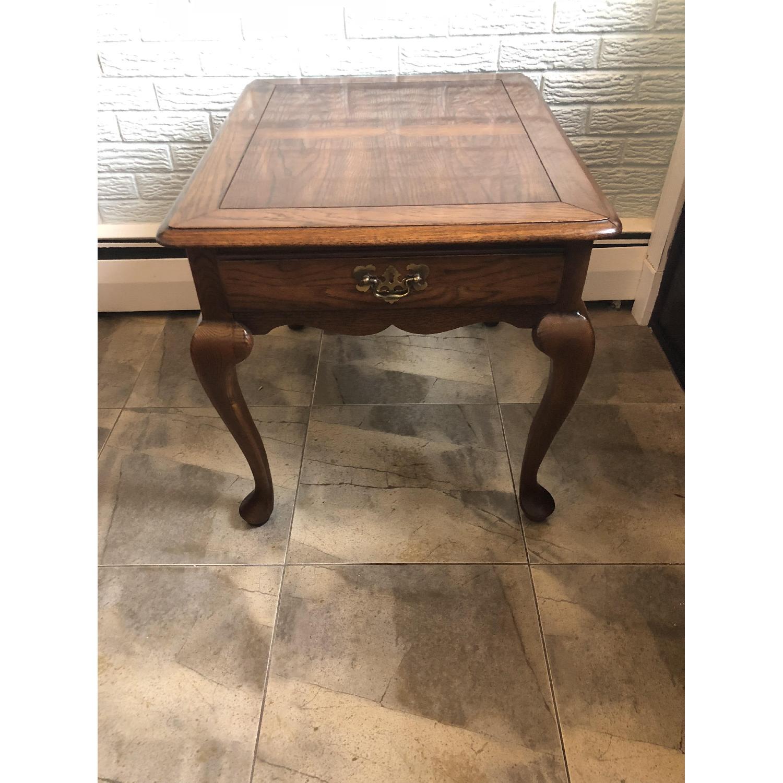 Hammary Wood Side Table-3