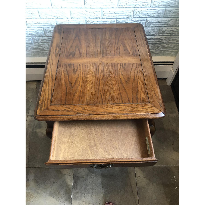 Hammary Wood Side Table-4