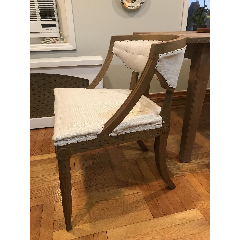 Restoration Hardware Swedish Demi-Lune Dining Chairs-1