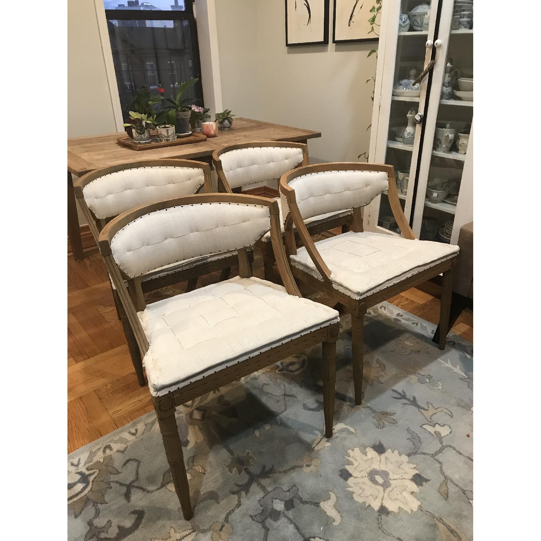 Restoration Hardware Swedish Demi-Lune Dining Chairs-5
