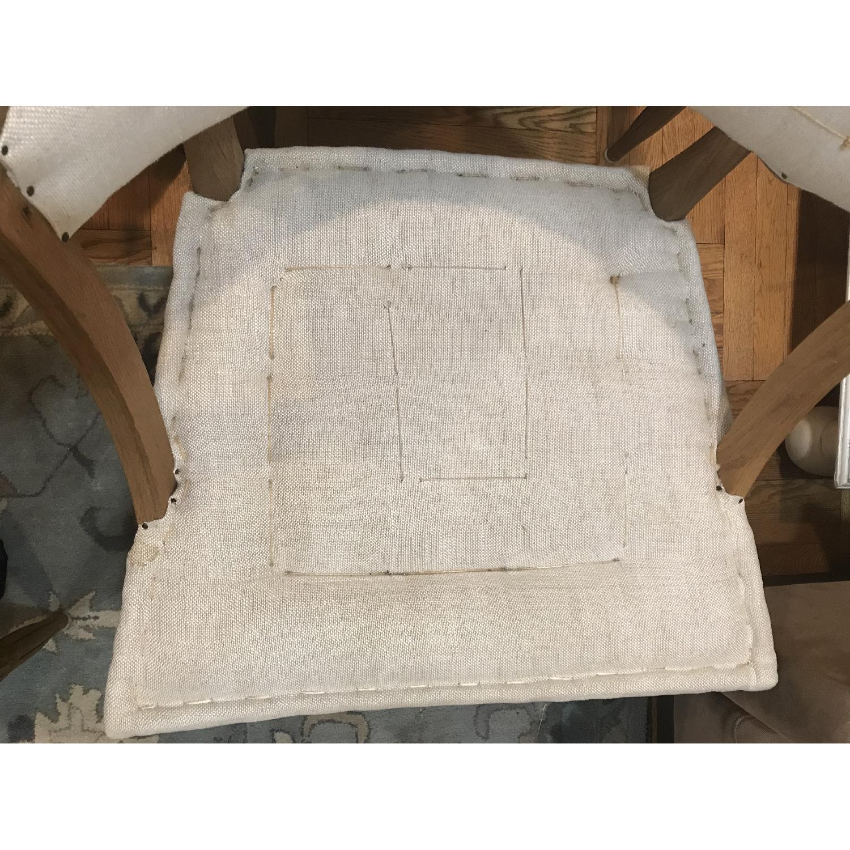 Restoration Hardware Swedish Demi-Lune Dining Chairs-6