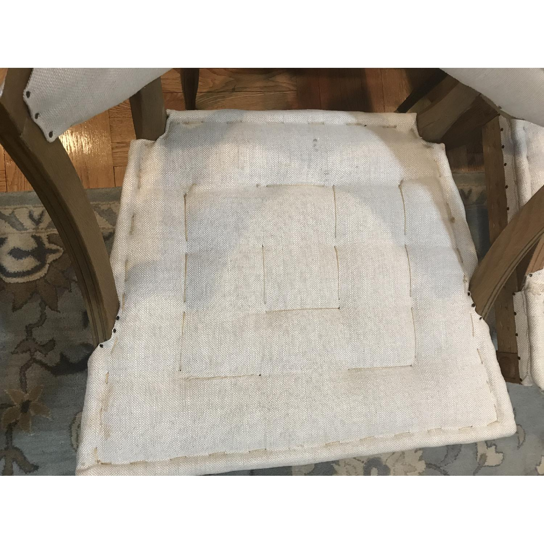 Restoration Hardware Swedish Demi-Lune Dining Chairs-7