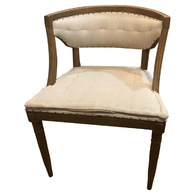 Restoration Hardware Swedish Demi-Lune Dining Chairs