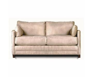 Jennifer Convertibles Softee Full Size Sleeper Loveseat