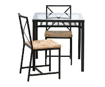 Ikea Granas 3 Piece Dining Set