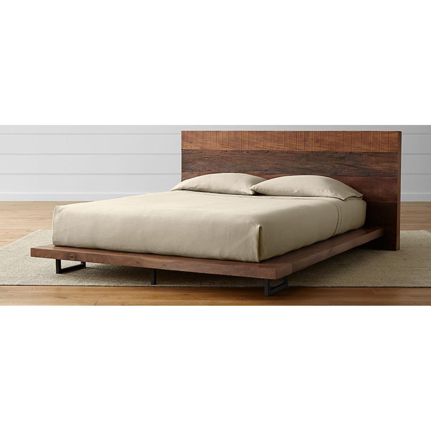 Crate & Barrel Atwood Queen Bed-0