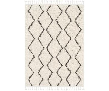 Langley Street Black & White Area Rug