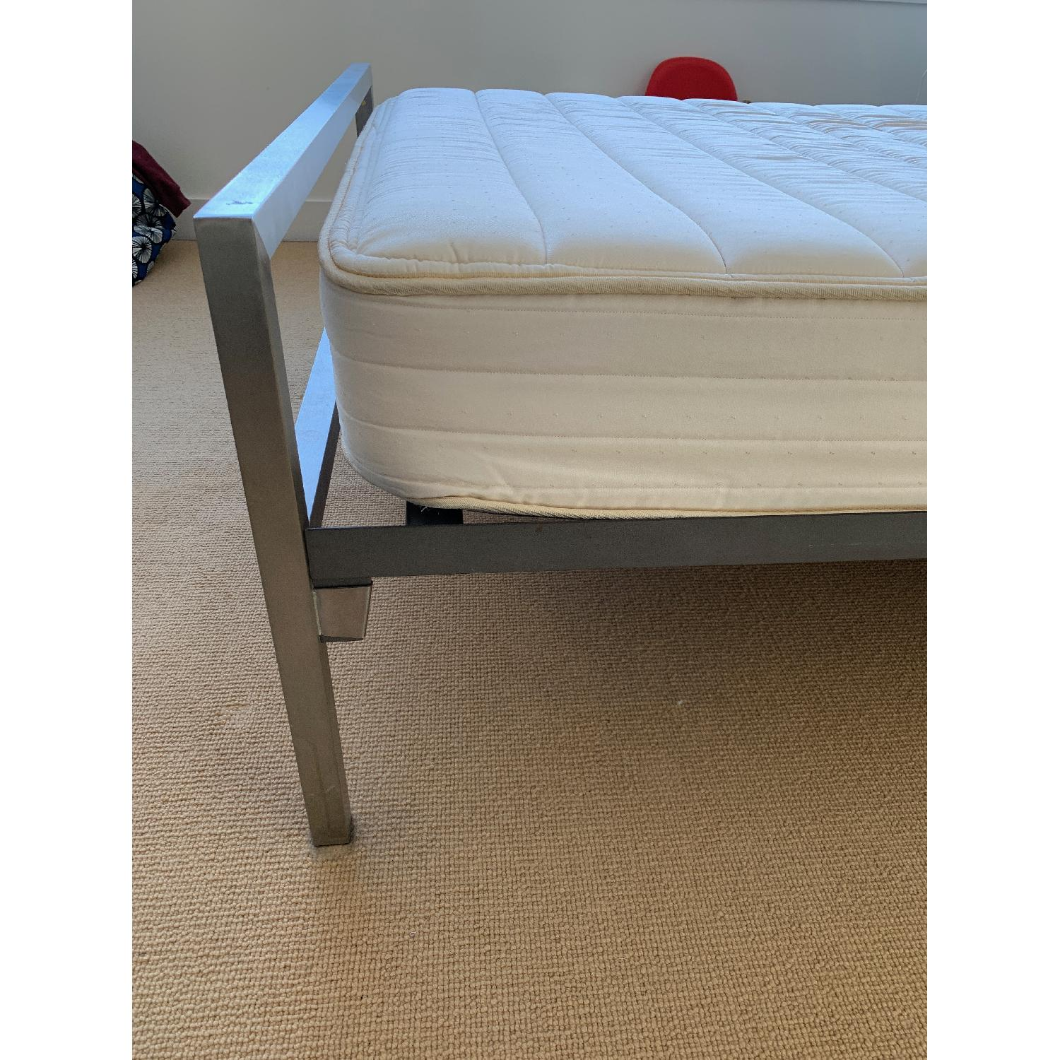 Room & Board Portica Stainless Steel Bed-2