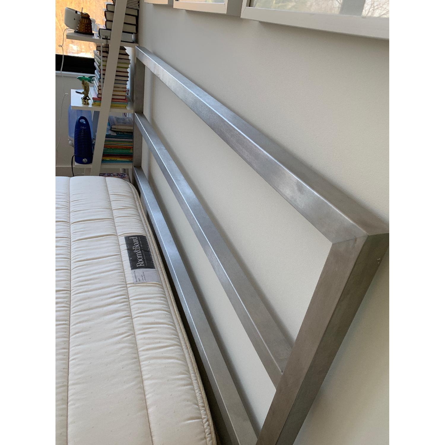 Room & Board Portica Stainless Steel Bed-3