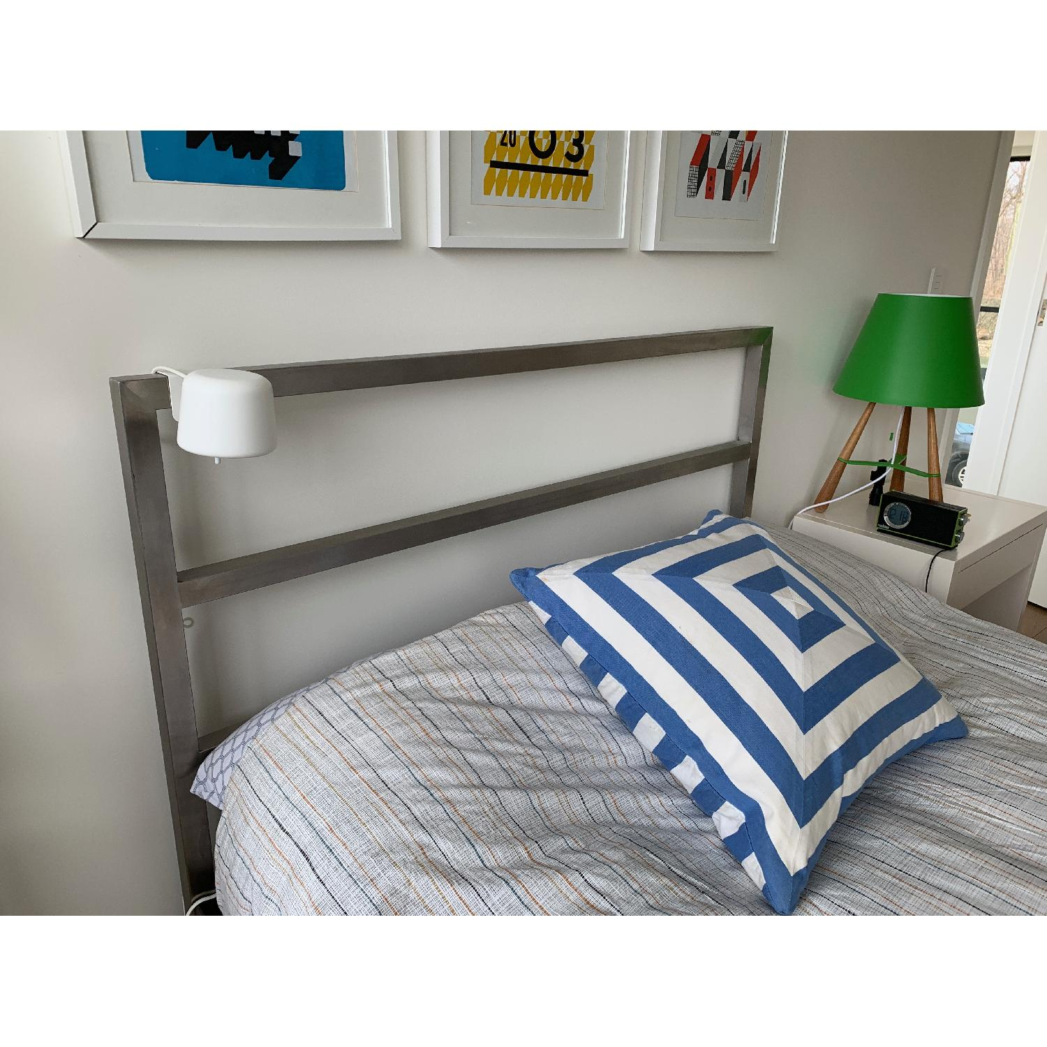 Room & Board Portica Stainless Steel Bed-4