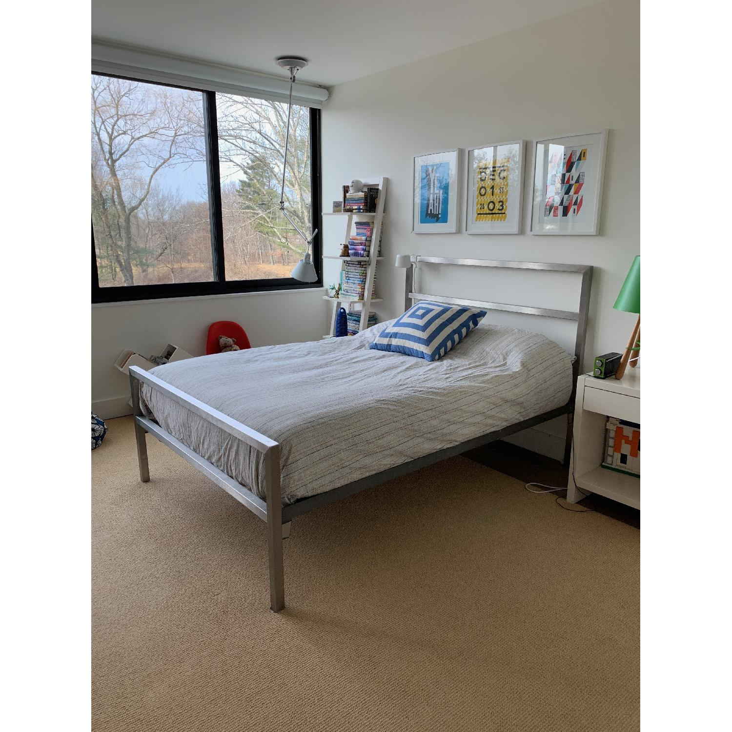 Room & Board Portica Stainless Steel Bed-5
