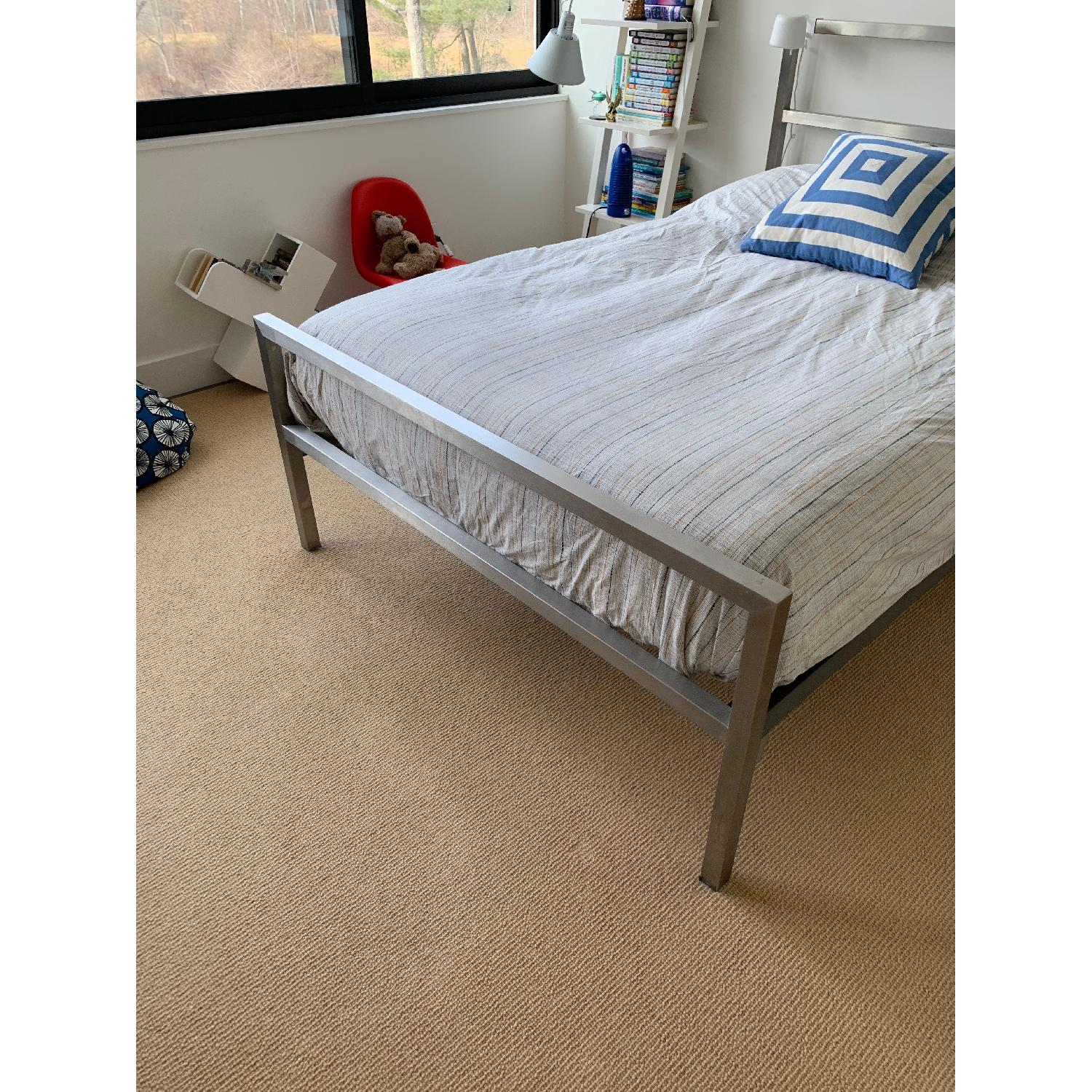 Room & Board Portica Stainless Steel Bed-6