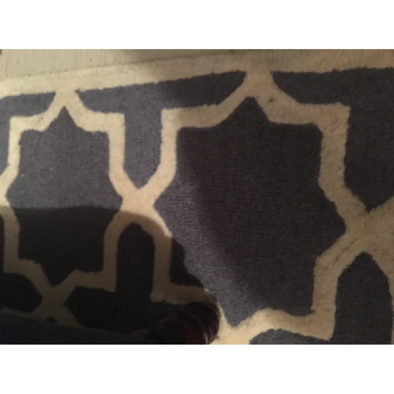 Safavieh Cambridge Moroccan Area Rug in Dark Gray/Ivory-0
