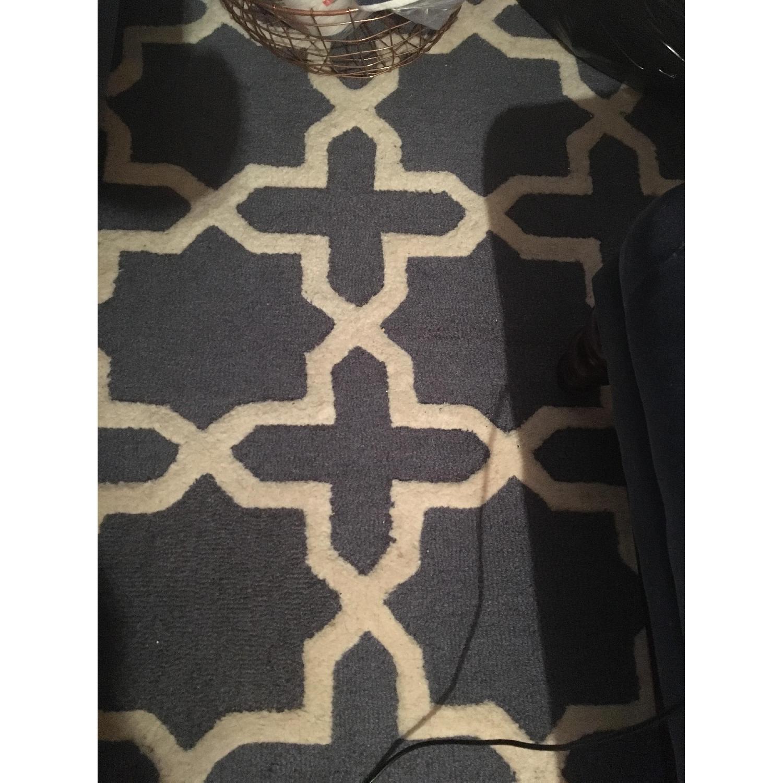 Safavieh Cambridge Moroccan Area Rug in Dark Gray/Ivory-1