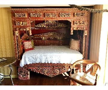Chinese Wedding/Opium Full Size Bed