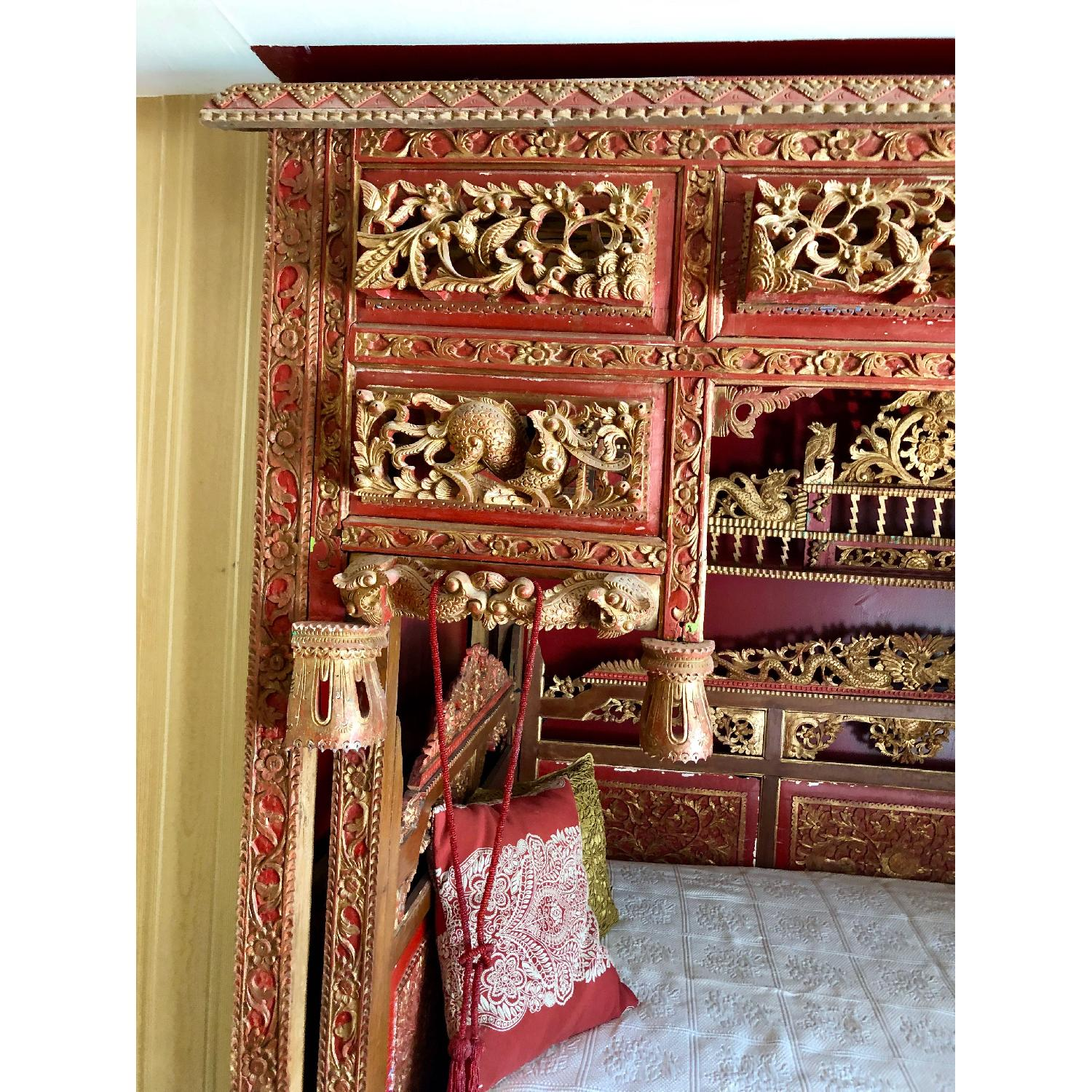 Chinese Wedding/Opium Full Size Bed-0