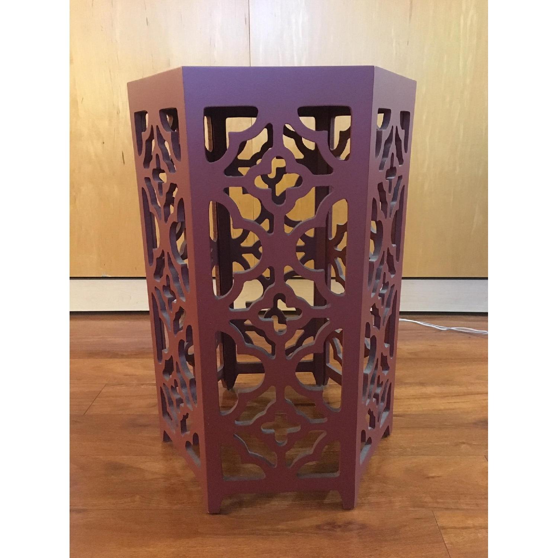 Flower Hexagonal Side Table-1