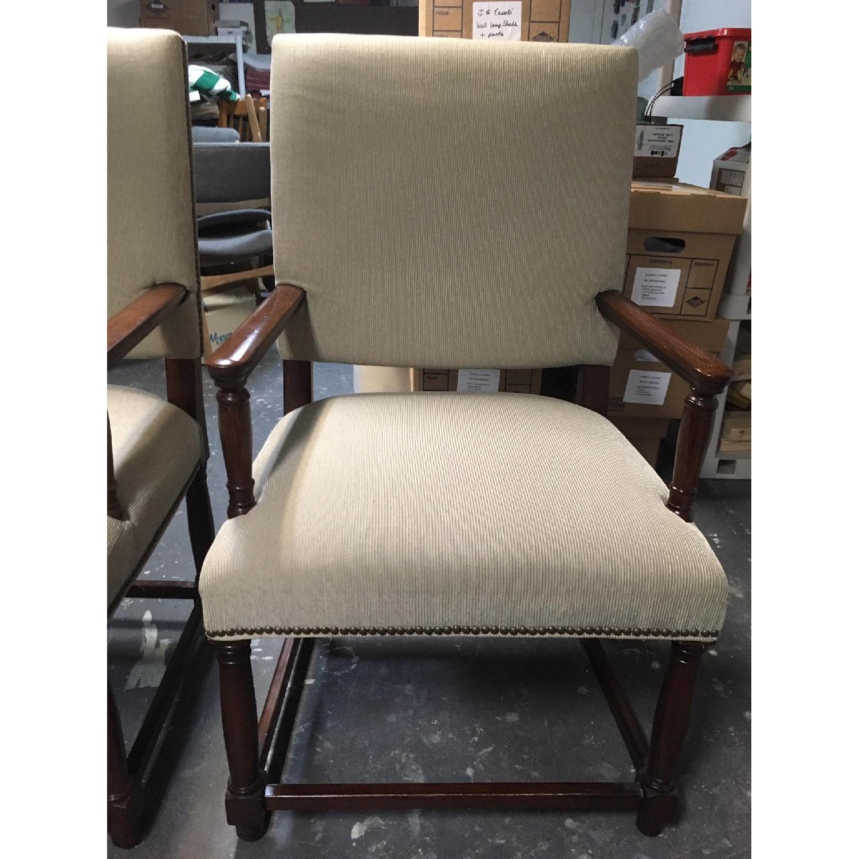 Restoration Hardware Empire Parsons Fabric Armchairs-1