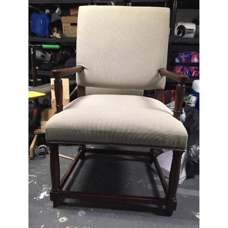 Restoration Hardware Empire Parsons Fabric Armchairs-2