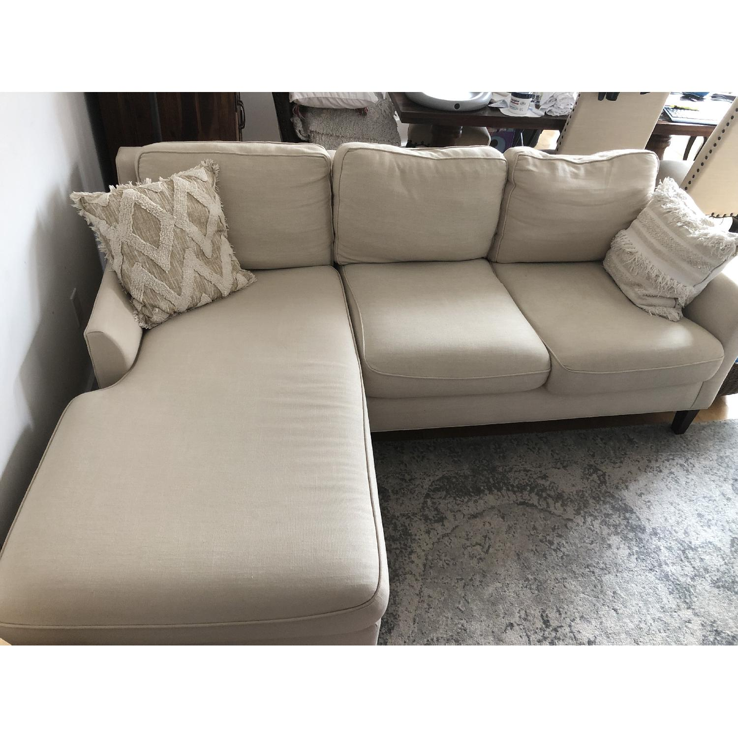 Pottery Barn Beverly Sectional Sofa w/ Chaise-1