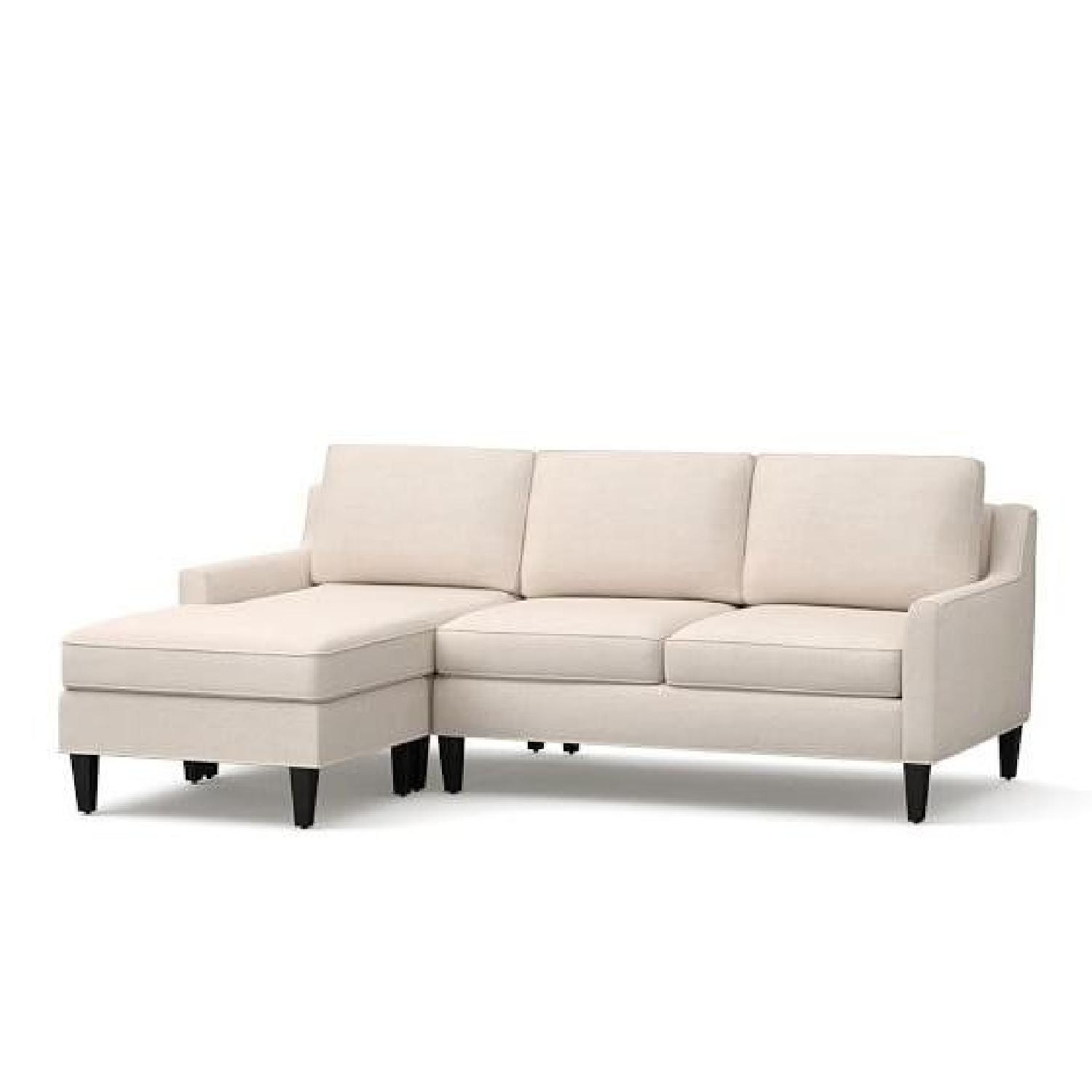 Pottery Barn Beverly Sectional Sofa w/ Chaise