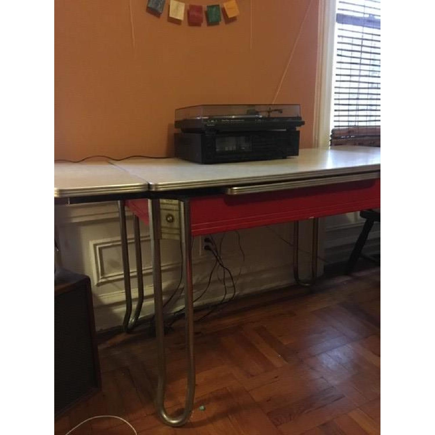 Vintage 60s Formica Dining Room Table-1