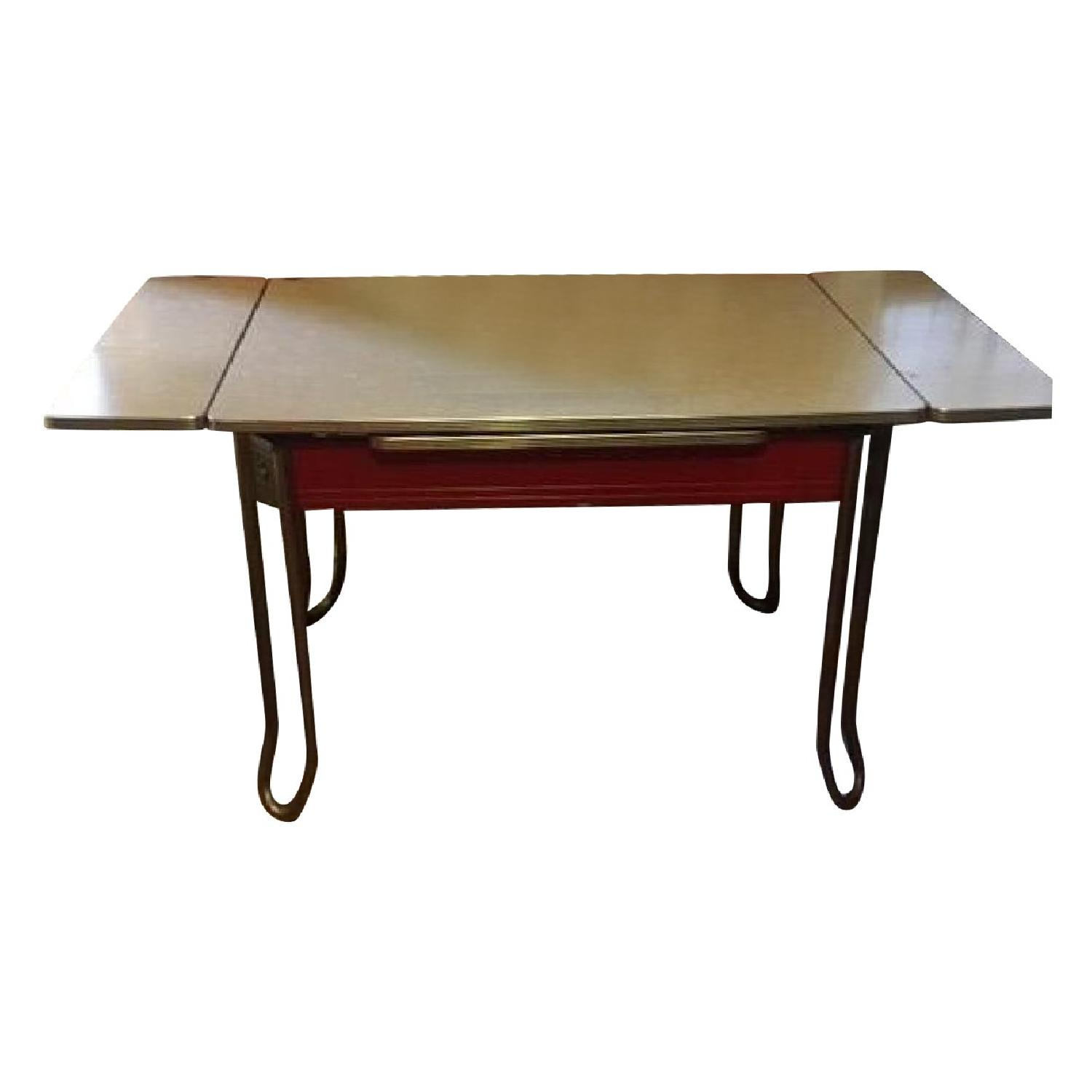Vintage 60s Formica Dining Room Table