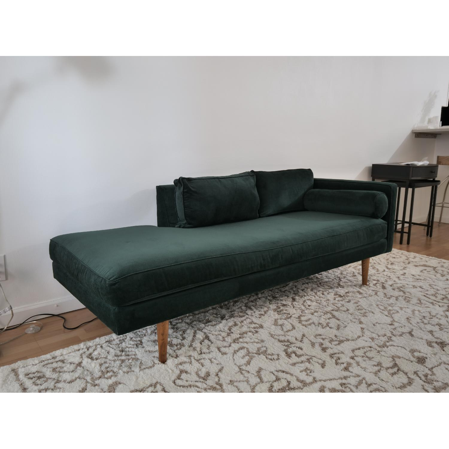 West Elm Monroe Mid-Century Chaise Lounger-0