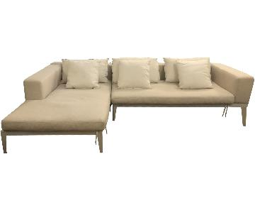 Harbour 1976 Balmoral 2-Piece Sectional Sofa w/ Chaise