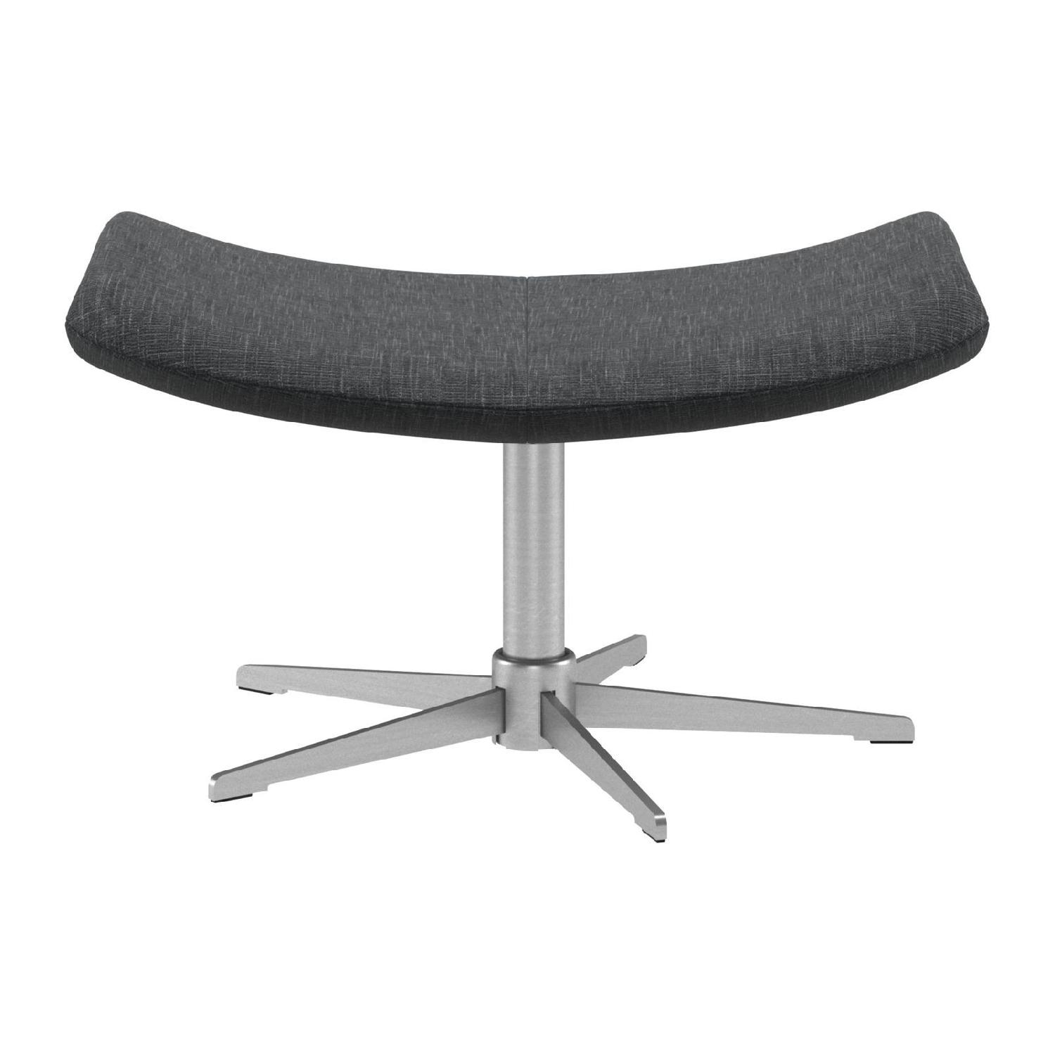 BoConcept Imola Chair & Footstool-3