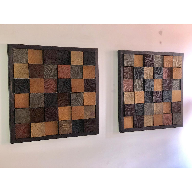 Reclaimed Wood Wall Art by Jaclyn Miller