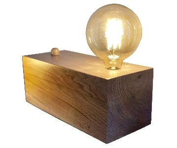 Ken Read Custom Walnut Table Lamps