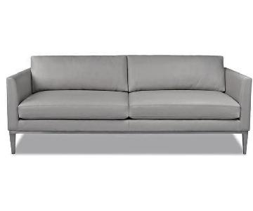 Jensen-Lewis Henley Leather Sofa