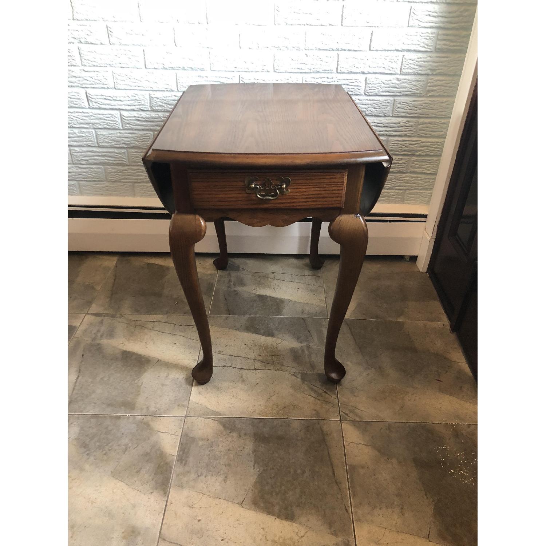 Hammary Drop-Leaf Coffee Table-2